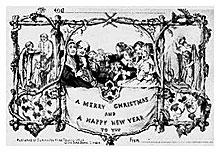 la postal de navidad-Autogiro arte actual