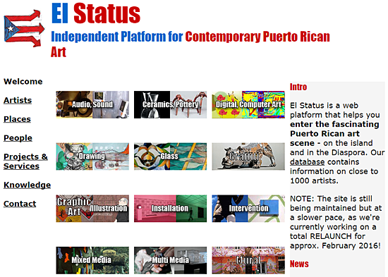 Un Status de Artistas | elstatus.com | Lisa Ladner