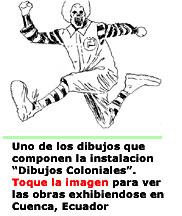 Dibujos Coloniales-Carlos Fajardo-Autogiro arte actual