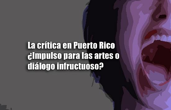 La crítica en Puerto Rico