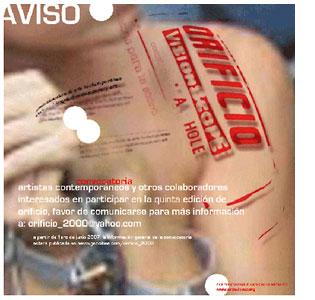 Revista Orificio-Teresa Lopez-Autogiro arte actual