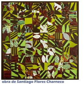 Mosaico sobrepaños-Santiago Flores Charneco -Autogiro arte actual