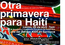 Otra primavera para Haití