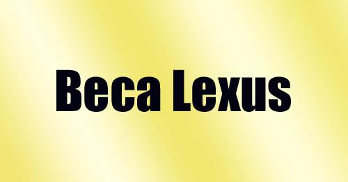 Beca Lexus para las artes   Autogiro Arte Actual