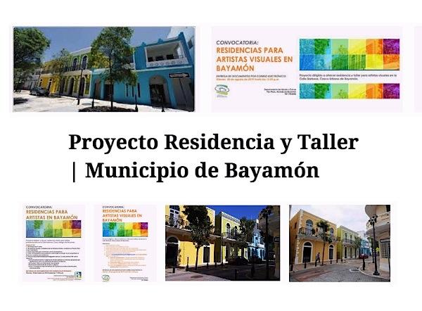 Bayamón taller y residencia artistas