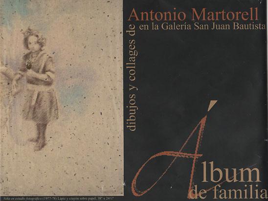 Álbum de familia de Antonio Martorell
