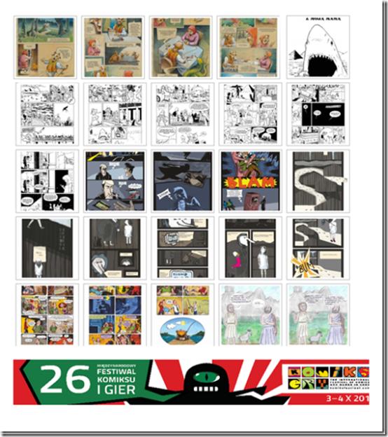 Concurso Comic Corto de Polonia_Autogiro arte actual