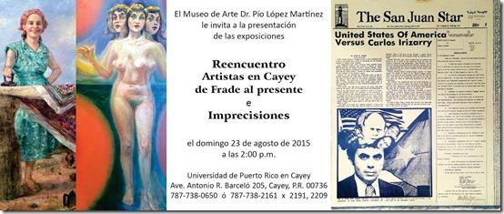 Reencuentro, artistas en Cayey de Frade_Autogiro arte actual