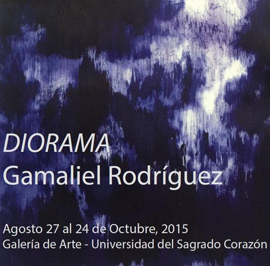 DIORAMA: Gamaliel Rodríguez en Sagrado Corazón