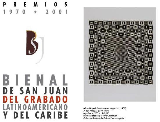 55 Grabados Premiados en Bienal
