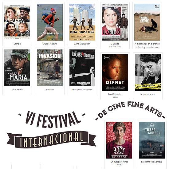 6to Festival Internacional de Cine Fine Arts