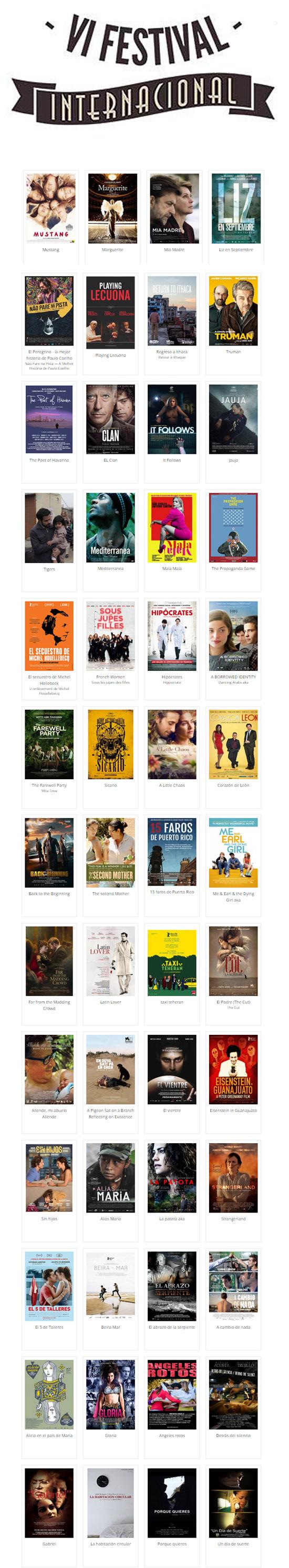 6to Festival de Cine Fine Arts peliculas-Autogiro arte actual