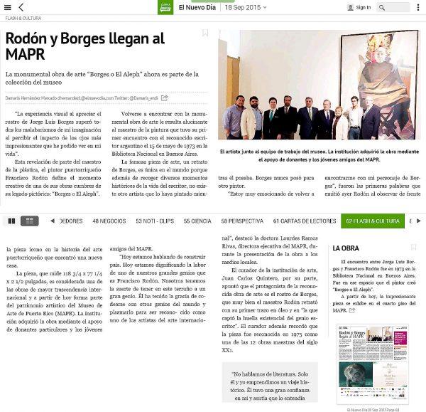 ¿El Borges de Rodón en el MAPR?
