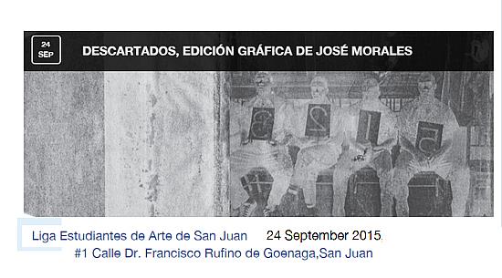 José Morales | Descartados en la Liga de Arte