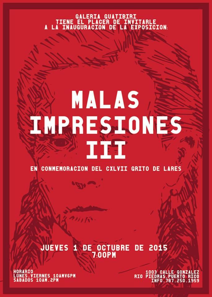 Malas Impresiones 3