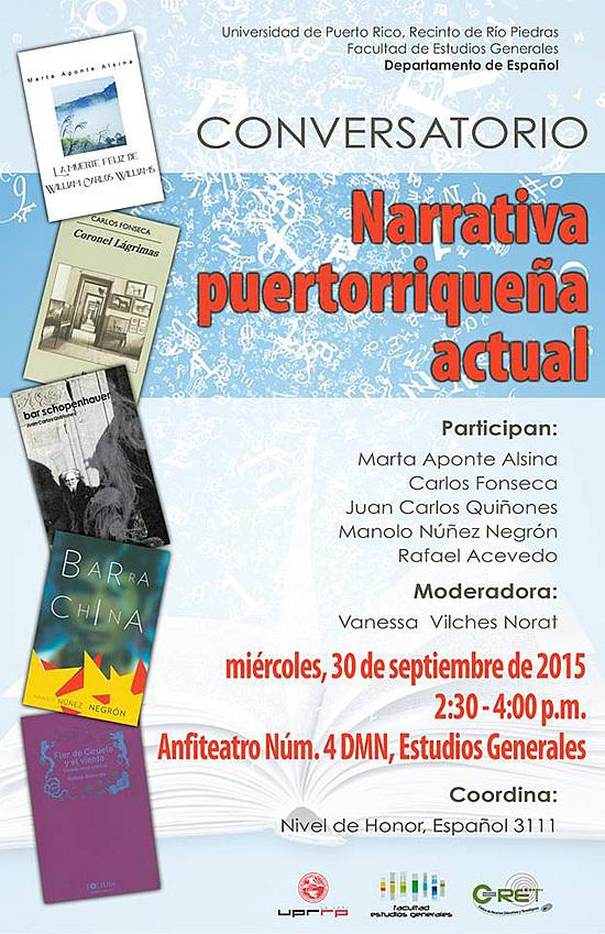 Narrativa Puertorriqueña Actual flyer-autogiro arte actual