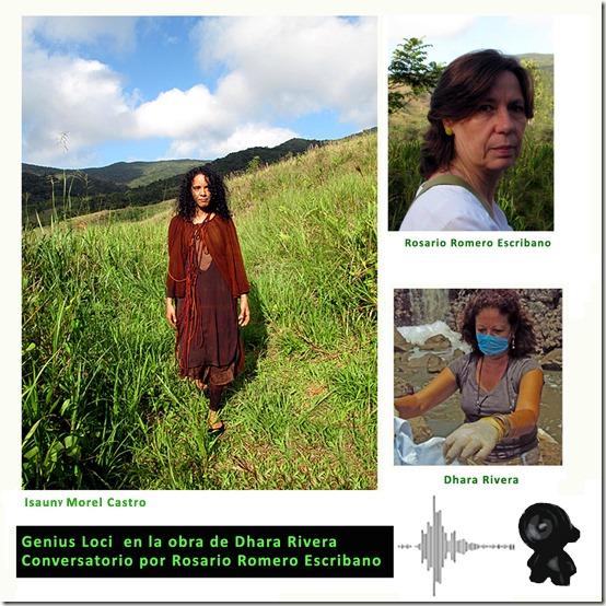 Un Espíritu protector en la obra de Dhara Rivera