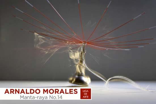 Arnaldo Morales escultor en la liga de arte