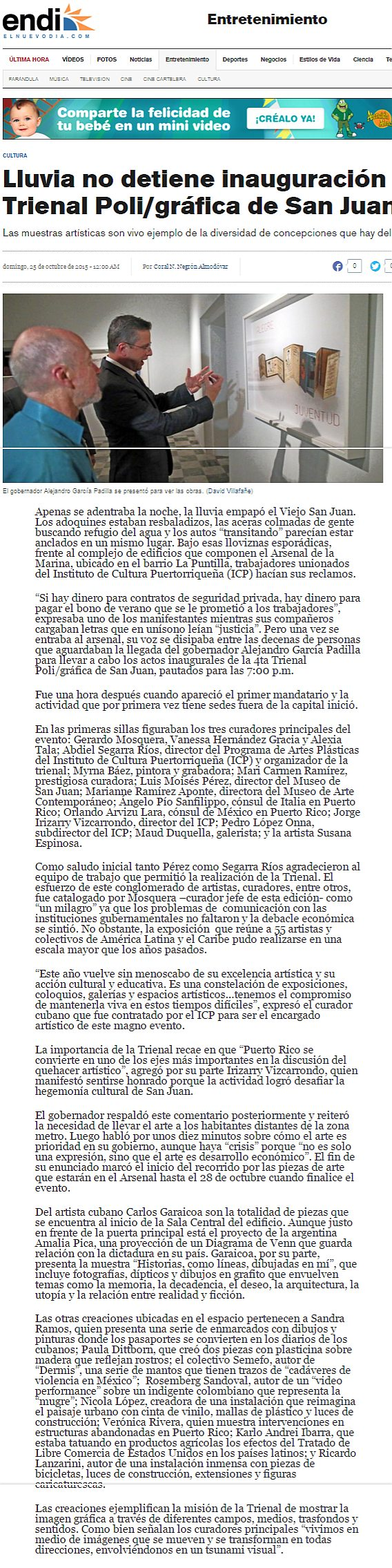 Inaugura la Trienal Poligráfica-Trienal-entrevista
