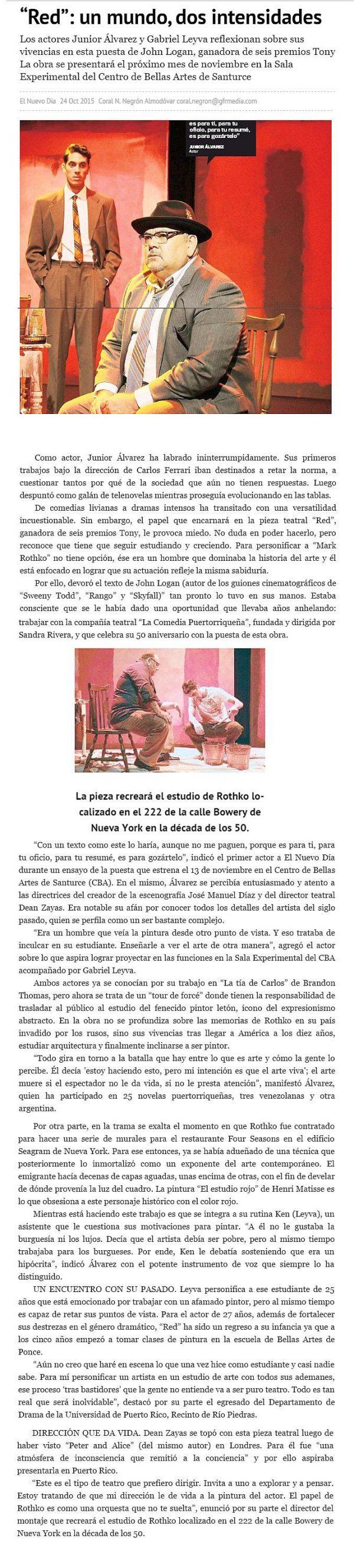 Mark Rothko ante el Pop