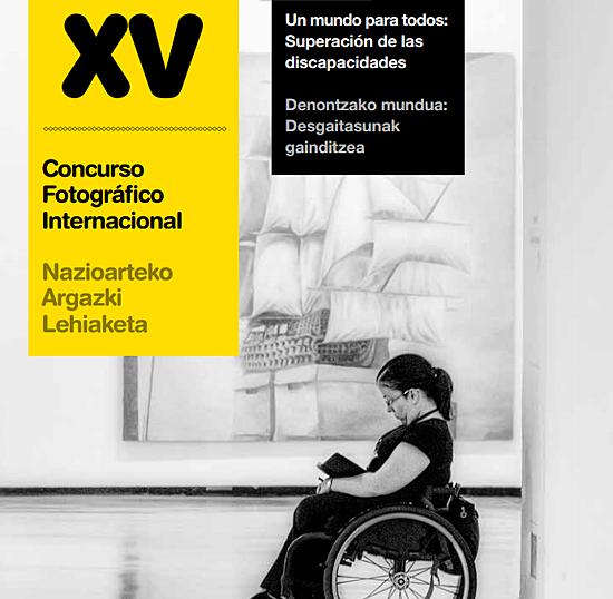 concurso fotográfico mundo para todos superación de las discapacidades,