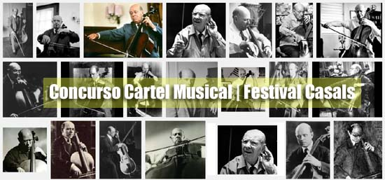 Concurso Cartel Musical Festival Casals