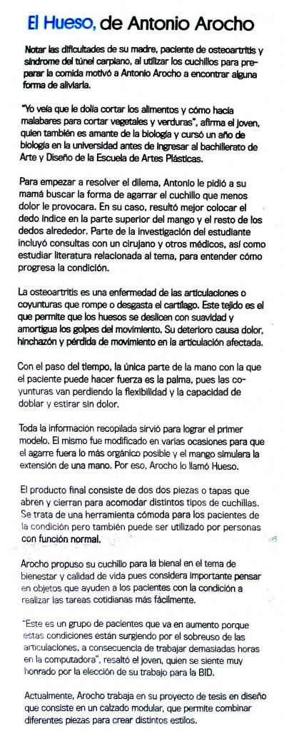 Diseñadores EAP-Bienal Diseño Madrid-Antonio Arocho-Autogiro arte actual