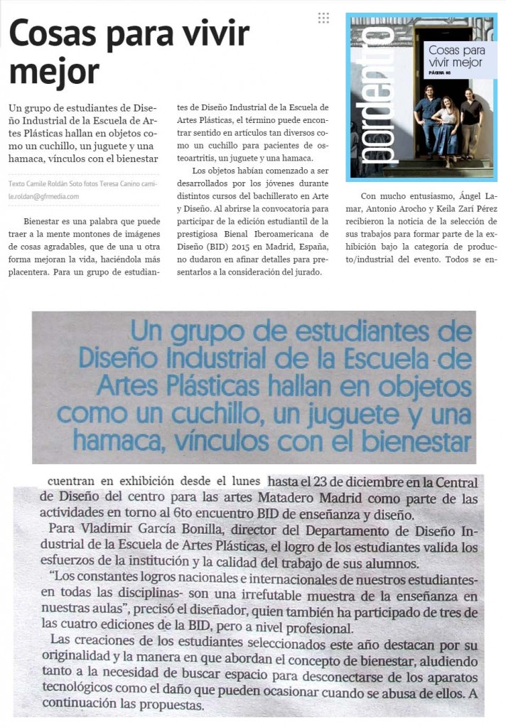 Diseñadores EAP-Bienal Diseño Madrid-Autogiro arte actual