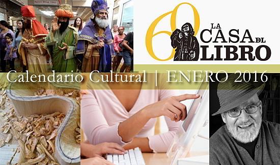 Calendario Cultural | ENERO 2016