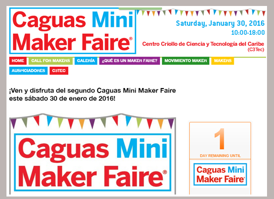 Caguas Mini Maker Faire 2016