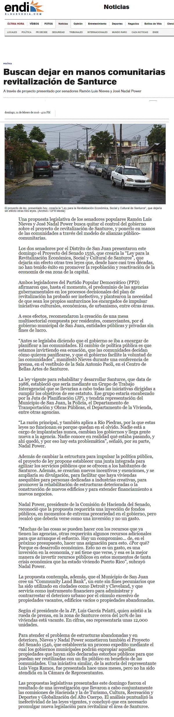 Revitalización de Santurce-ENDI-autogiro arte actual
