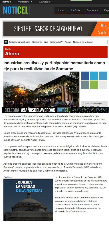 Revitalización de Santurce-NOTICEL-autogiro arte actual