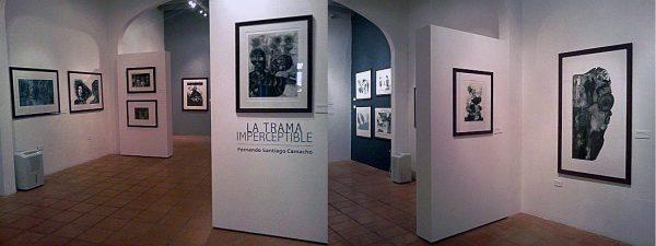 La Casa del Libro presentala obra Gráfica de Fernando Santiago Camacho en la muestraLa Trama Imperceptible.