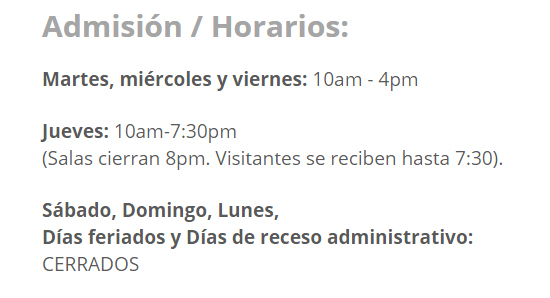 hoario y precios del museo MUSA-Mayaguez--arte--autogiro-arte-actual