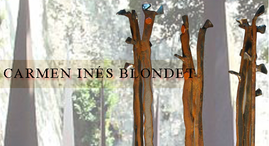 CarmenInésBlondet escultura