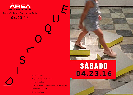 Disloque | Área | 23 abril