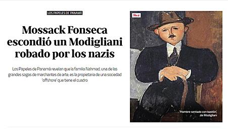 Mossack Fonseca-Arte-modigliani head-Autogiro arte actual