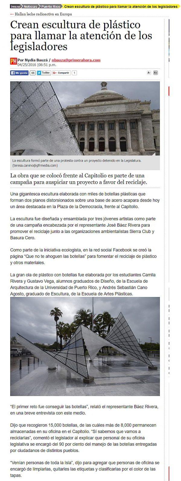 Pleamar-Capitolio-Puerto Rico-primera hora-Autogiro arte actual