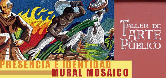 Presencia e Identidad | Mural Mosaico | Cidra