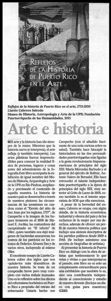 Relfejo histori puerto rico en el arte-Autogiro arte actual