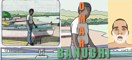 Ilustrador de Comics Omar Banuchi