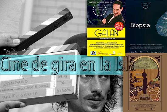 Cine de gira en la Isla-cineastas