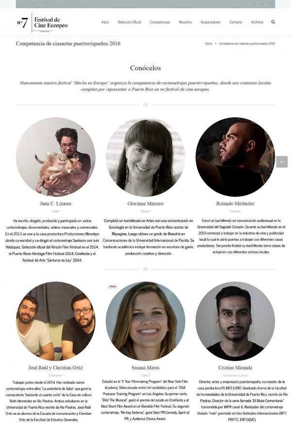 Cine de gira en la Isla-cineastas-Autogiro arte actuall