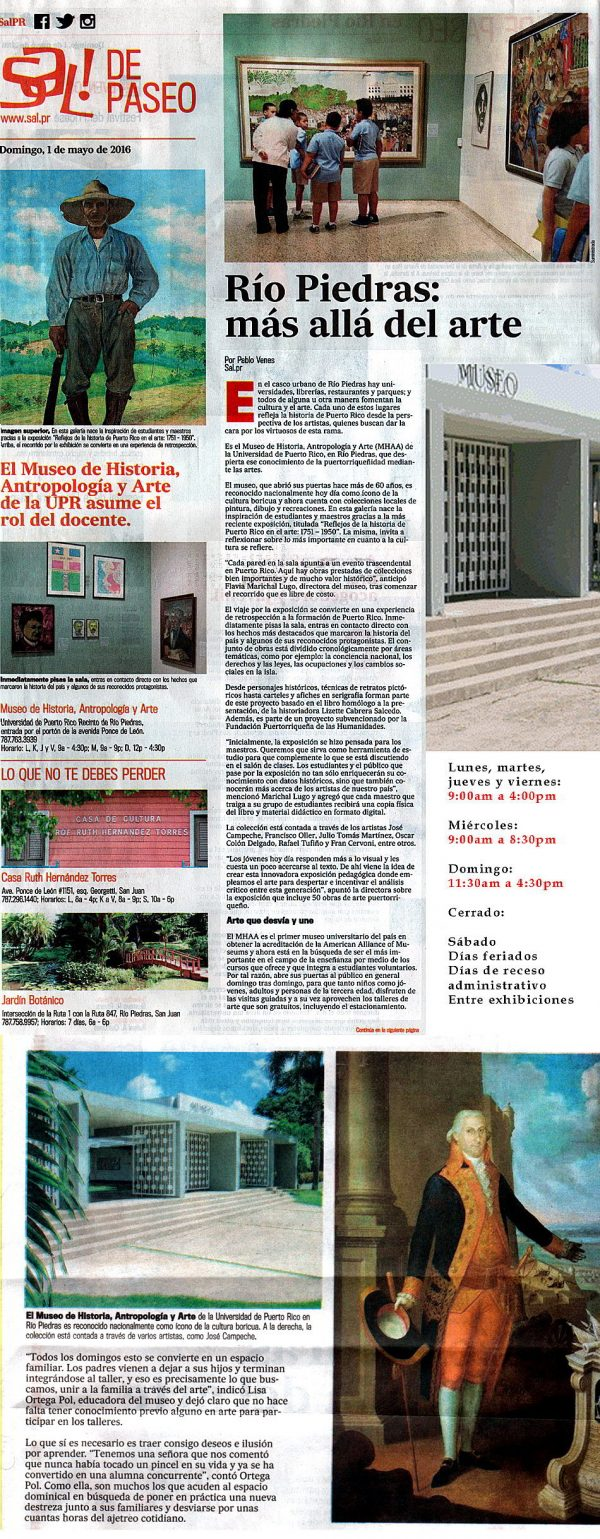 Museo UPR-Reseña-Sal de Paseo-Endi-Autogiro arte actual