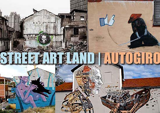 Street Art | Autogiro | Junio | 2016