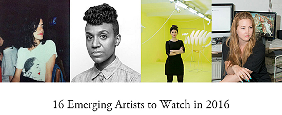 16 Emerging Artists to Watch in 2016-Artsy-Autogiro arte actual