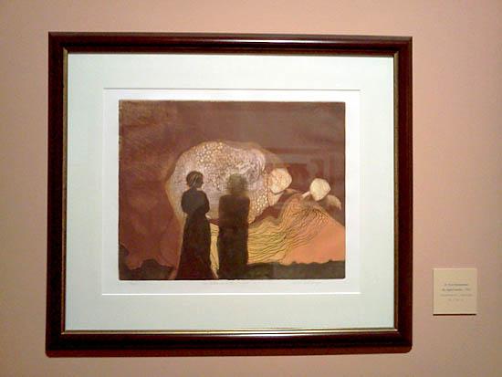 Grabado de Somoza figuracion-Museo de las Americas-Autogiro arte actual