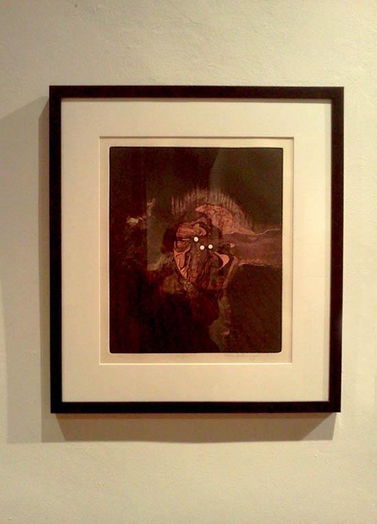 Grabado de Somoza #imagen-Museo de las Americas-Autogiro arte actual