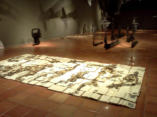 Sala de Evidencia-Coco Valencia-obras#3-Autogiro arte actual