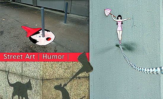 Street Art | Humor | Julio | 2016